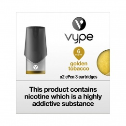 Vype ePen 3 Cartridges Golden Tobacco