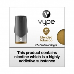 Vype ePen 3 Cartridges Blended Tobacco