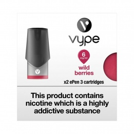 Vype ePen 3 Cartridges Wild Berries