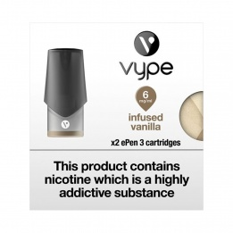 Vype ePen 3 Cartridges - Infused Vanilla