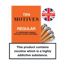 10 Motives - Regular Tobacco Flavour Refills