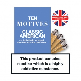 10 Motives - Classic American Flavour 16mg Refills