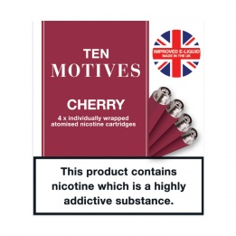 10 Motives - Cherry Flavour 16mg Refills