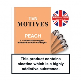 10 Motives - Peach Flavour 16mg Refills