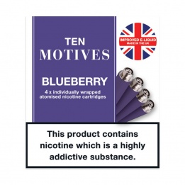10 Motives - Blueberry Flavour 16mg Refills