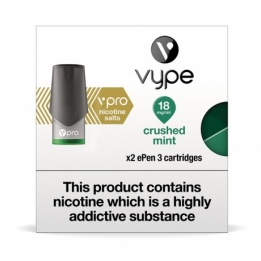 Vype vPro ePen 3 Cartridges - Crushed Mint