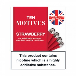 10 Motives - Strawberry Flavour 16mg Refills