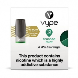 Vype vPro ePen 3 Cartridges Crushed Mint