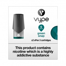Vype ePen 3 Cap Green Snap