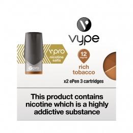 Vype ePen 3 vPro Cap Rich Tobacco