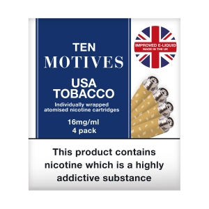 10 Motives USA Tobacco Flavour Refills