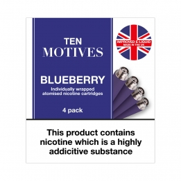 Ten Motives - Blueberry Flavour 16mg Refills