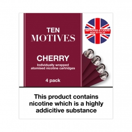 Ten Motives - Cherry Flavour 16mg Refills