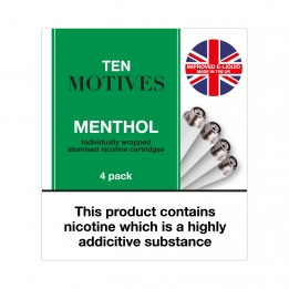 Ten Motives - Menthol Flavour Refills