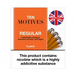 Ten Motives - Regular Tobacco Flavour Refills