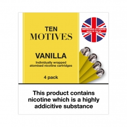Ten Motives - Vanilla Flavour 16mg Refills