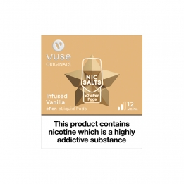 Vuse ePen Pods Nic Salts Infused Vanilla