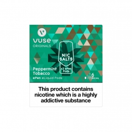 Vuse ePen Pods Nic Salts Peppermint Tobacco