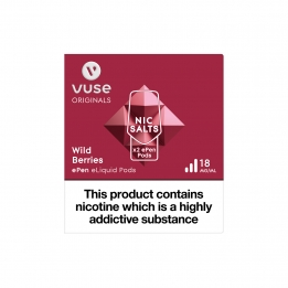 Vuse ePen Pods Nic Salts Wild Berries