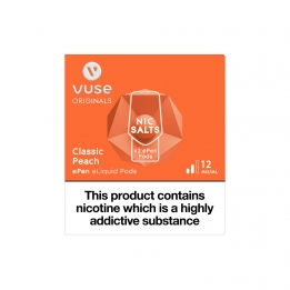 Vuse ePen Pods Nic Salts Classic Peach