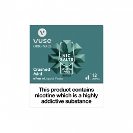 Vuse ePen Pods Nic Salts Crushed Mint