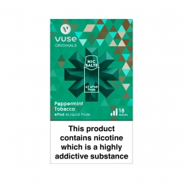 Vuse ePod Pods Nic Salts Peppermint Tobacco